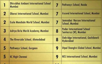 EducationWorld Top 10 Award 2019
